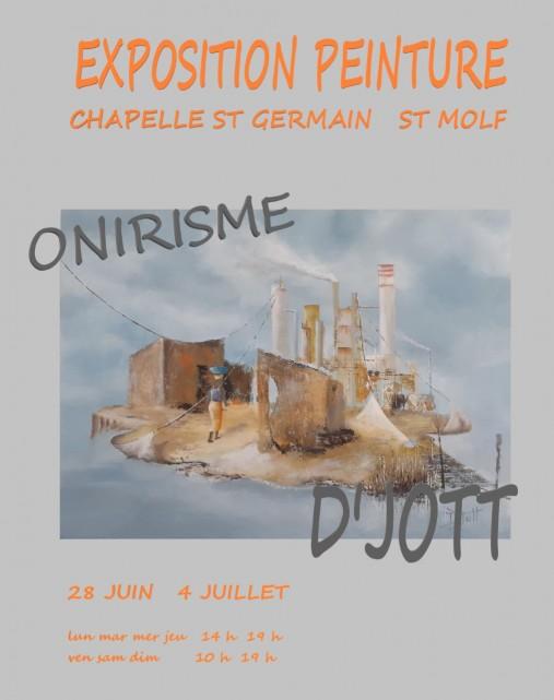 Exposition peinture Onirisme D'Jott Saint-Molf