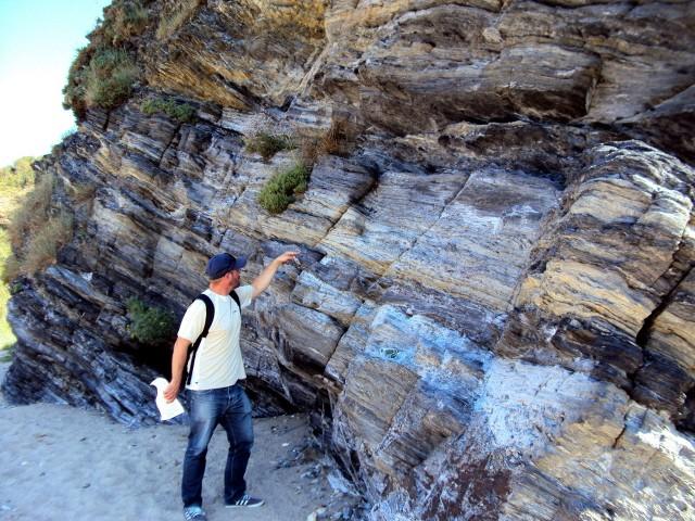 Visite géologique du site du Palandrin à Pénestin