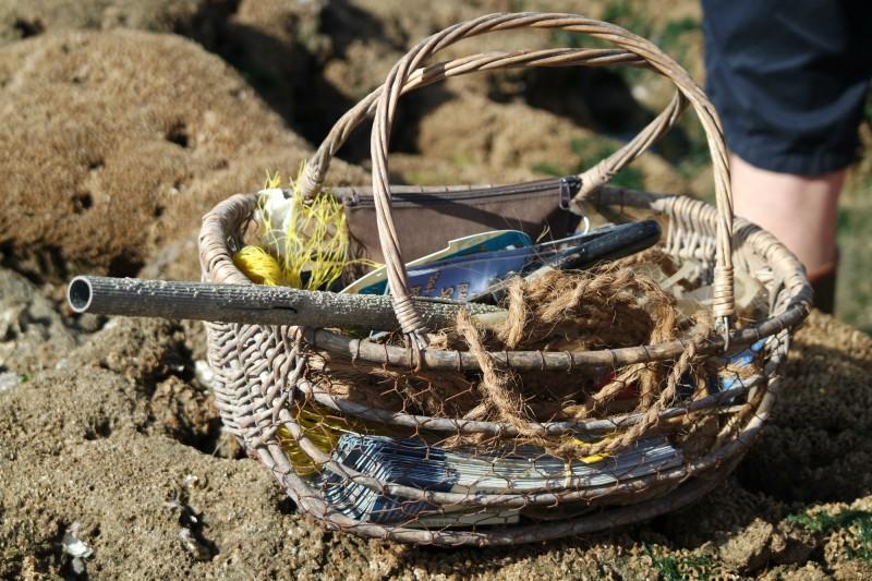 Sorties Estran et Coquillages - Piriac-sur-Mer - panier de pêche - CAP Atlantique