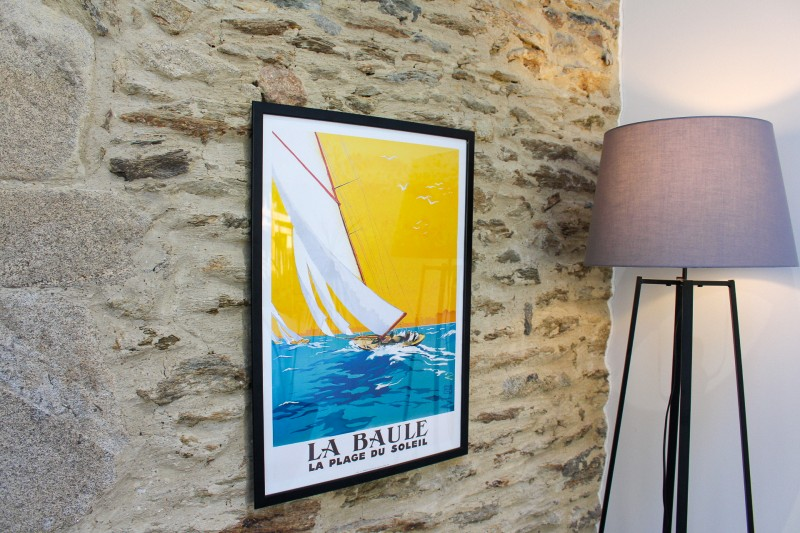 Affiche Edition Clouet - Voiliers