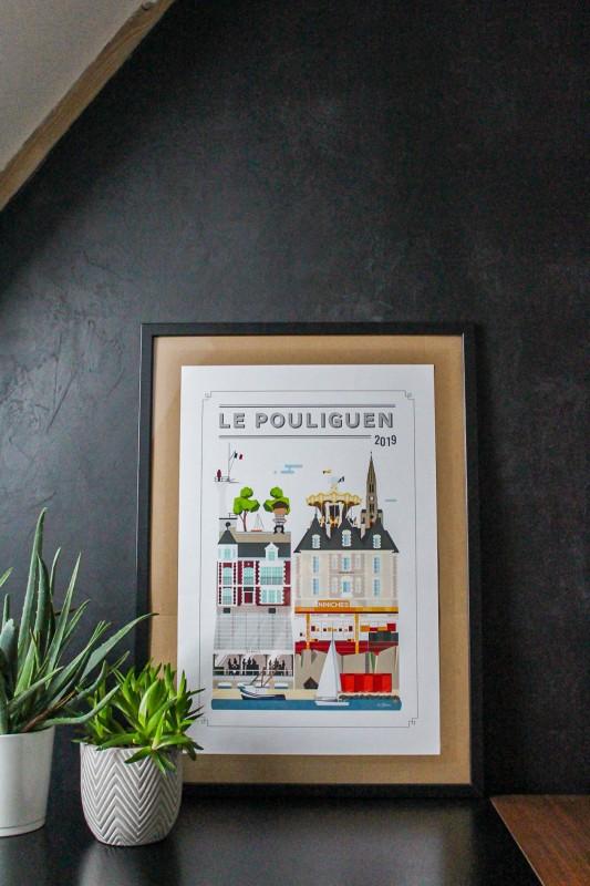 Affiche Quatre Vingt Trois - Le Pouliguen