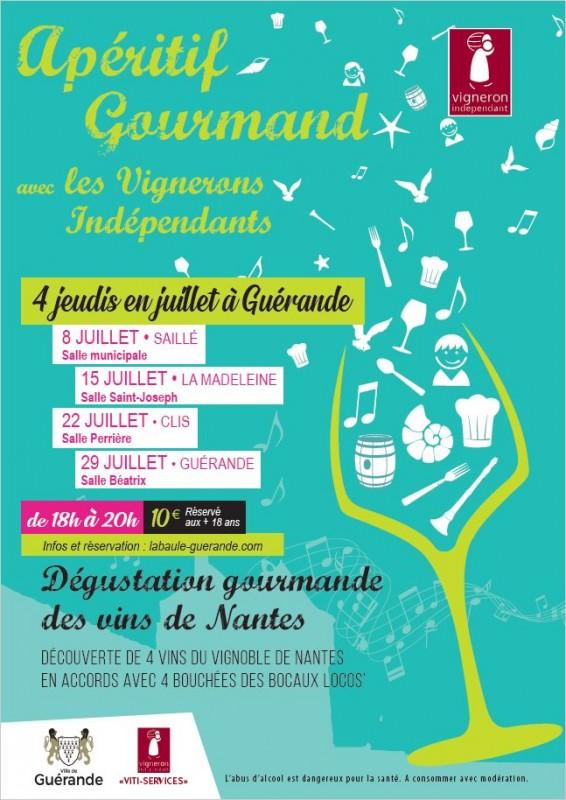 Apéritifs Gourmands - Guérande