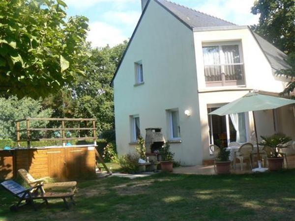 Assérac - Location maison 10 personnes - Jardin avec piscine