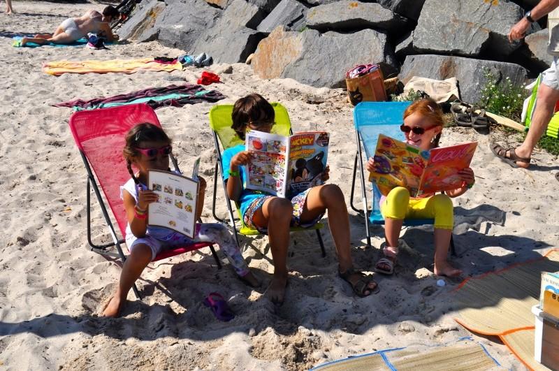Bibliothèque à la plage - Piriac sur Mer