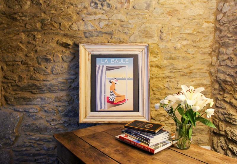 Boutique en ligne - Affiche Doz A3 - La Baule tente de plage - Office de tourisme La Baule presqu'île de Guérande