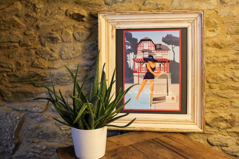 Boutique en ligne - Affiche Doz A3 - La Baule Villa - Office de tourisme La Baule Presqu'île de guérande