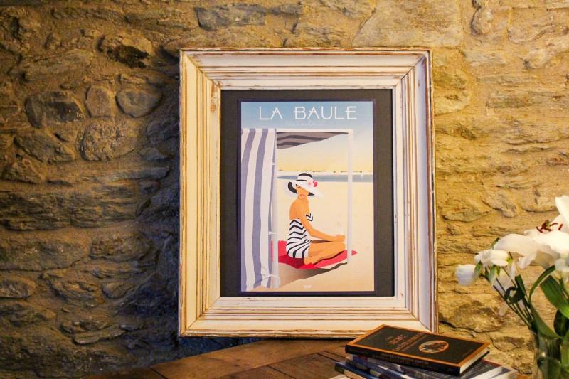 Boutique en ligne - Affiche Doz - La Baule tente de plage - Office de tourisme La Baule presqu'île de Guérande
