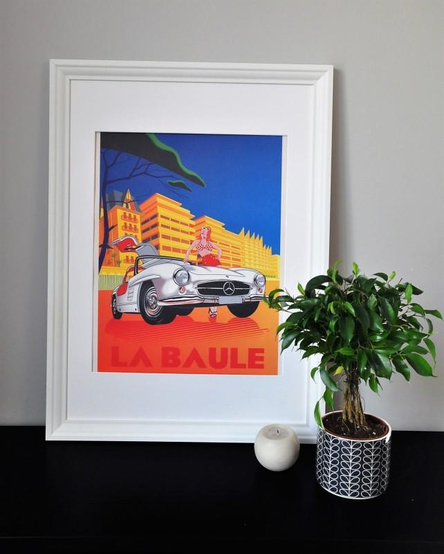 Boutique en ligne - Affiche Grimaud - La Baule - Office de tourisme La Baule Presqu'île de Guérande