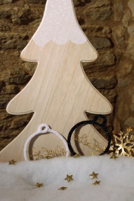 Boutique en ligne - boule de Noël Tricotin- Office de Tourisme La Baule presqu'île de Guérande.