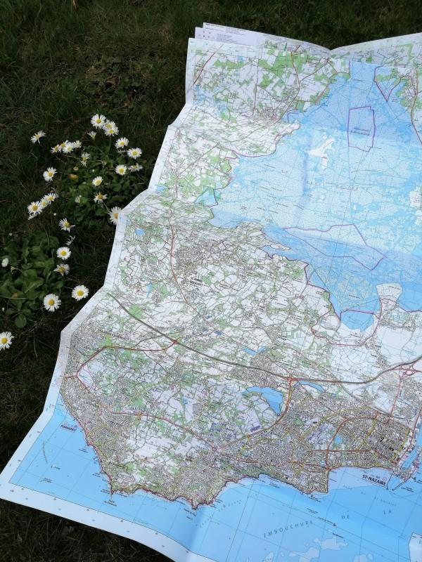Boutique en ligne - Carte IGN St Nazaire - PNR de Brière - Office de tourisme La Baule Presqu'île de Guérande