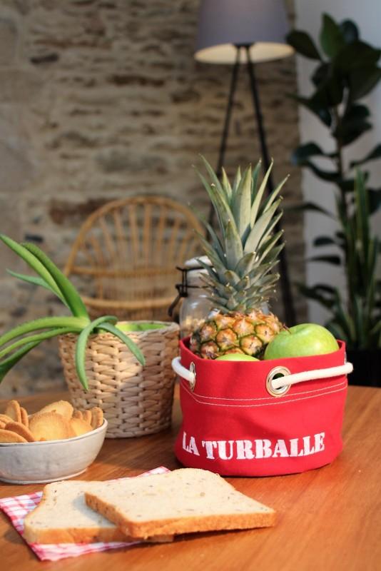 Boutique en ligne - corbeille La Turballe rouge - Office de Tourisme La Baule Presqu'île de Guérande