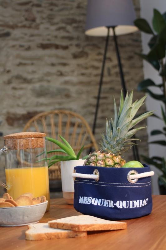 Boutique en ligne - corbeille Mesquer-Quimiac bleu marine - Office de Tourisme La Baule Presqu'île de Guérande