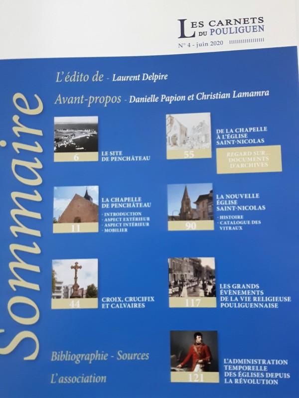 Boutique en ligne - Les carnets du Pouliguen n°4 - sommaire Le patrimoine religieux du Pouliguen - Office de Tourisme La Baule Presqu'île de Guérande
