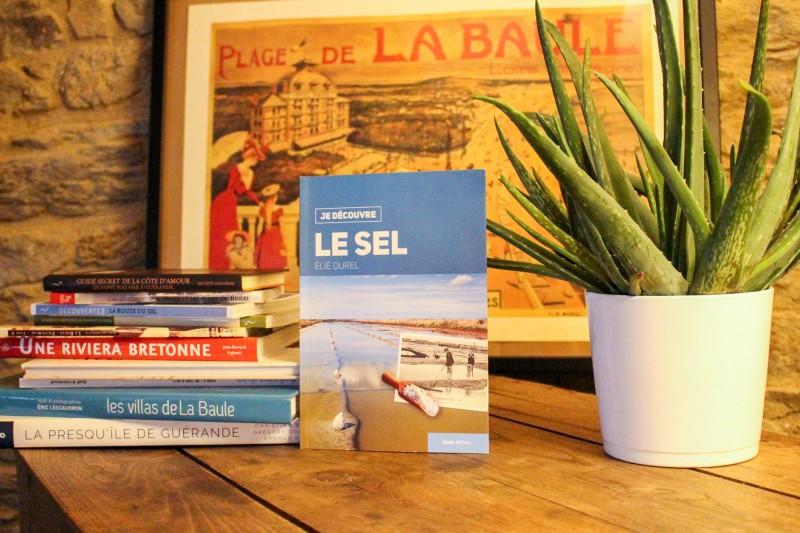 Boutique en ligne - Livre Je decouvre le sel - Office de tourisme La Baule Presqu'île de Guérande