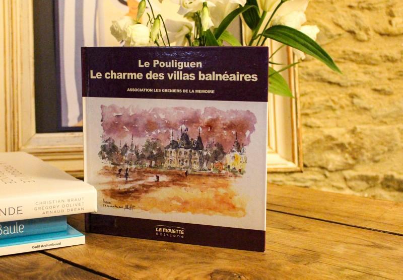 Boutique en ligne - Livre Le charme des villas balneaires Le Pouliguen - Office de tourisme La Baule Presqu'île de Guérande