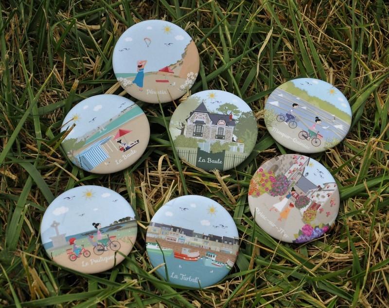 Boutique en ligne - Magnets La Baule Presqu'île de Guérande - Office de tourisme La Baule Presqu'île de Guérande