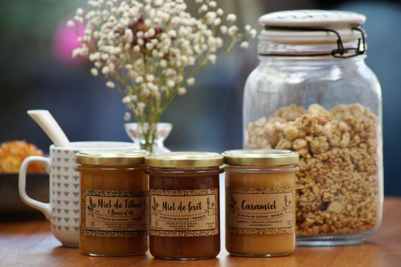 Boutique en ligne -  miels - La Ferme de Kerhué - Office de tourisme La Baule-Presqu'île de Guérande