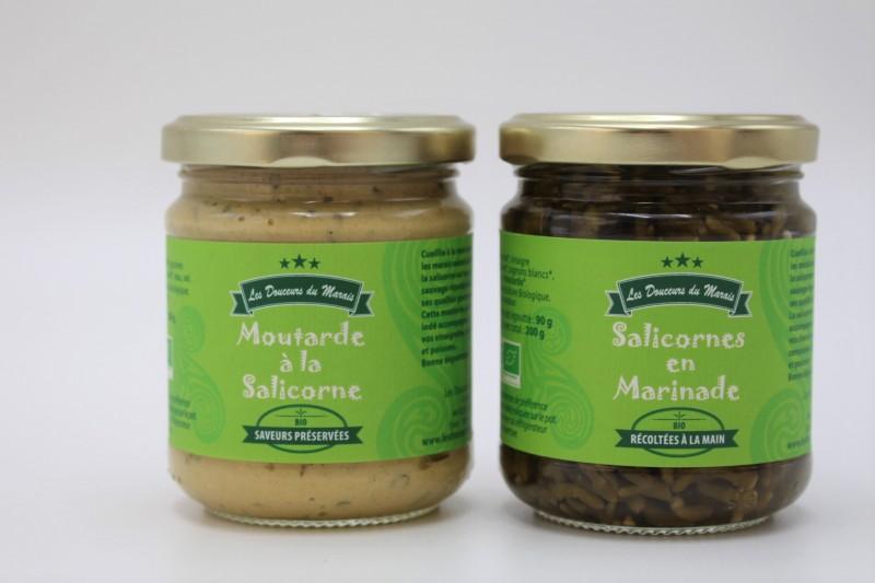 Boutique en ligne - Moutarde à la salicorne et salicornes en marinade- Office de tourisme La Baule Presqu'île de Guérande