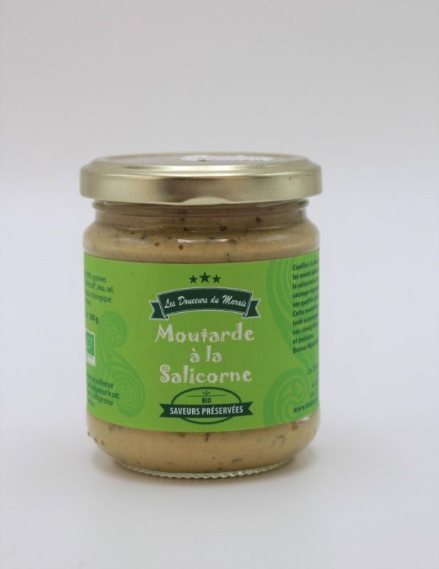 Boutique en ligne - Moutarde à la salicorne - Office de tourisme La Baule Presqu'île de Guérande