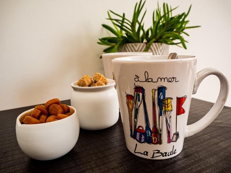 Boutique en ligne - Mug Rames La Baule - Office de tourisme La Baule Presqu'île de Guérande