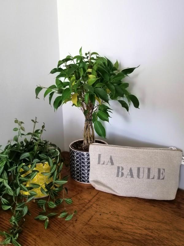 Boutique en ligne - pochette lin et paillettes La Baule lin - Office de Tourisme La Baule Presqu'île de Guérande