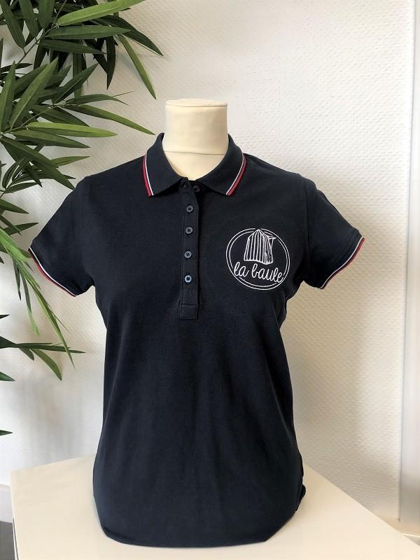 Boutique en ligne - Polo femme cabine - Office de tourisme La Baule Presqu'île de guérande