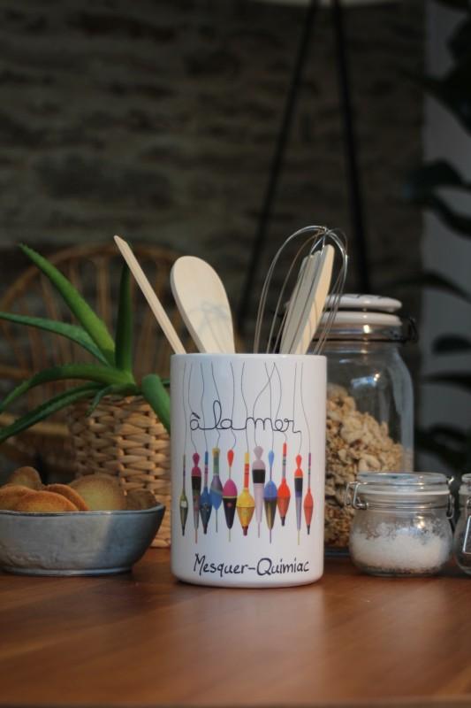 Boutique en ligne - Pot à ustensile Mesquer-Quimiac - Office de Tourisme La Baule-Presqu'île de Guérande