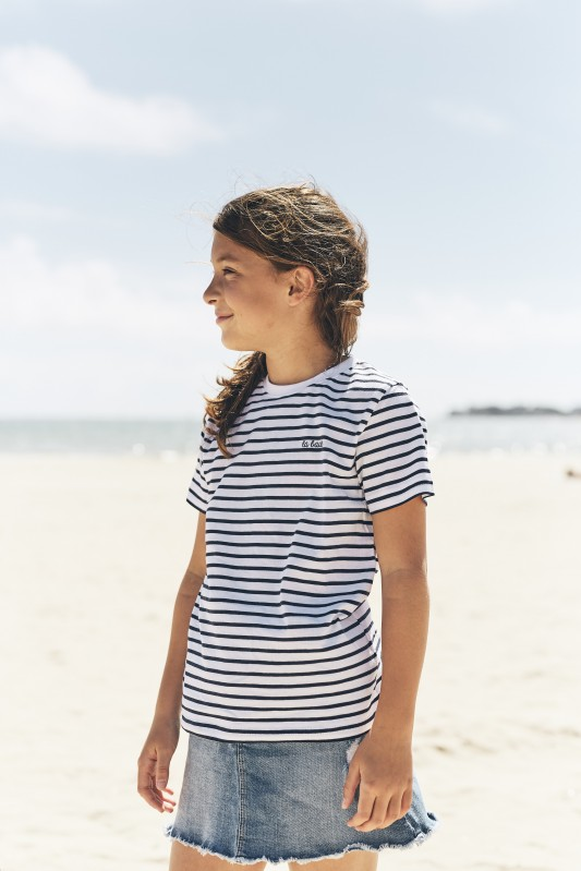 Boutique en ligne-T-shirt Enfant Rayé - La Baule
