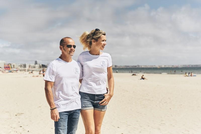 Boutique en ligne - t-shirt Homme cabine -LB - Office de tourisme La Baule Presqu'île de Guérande