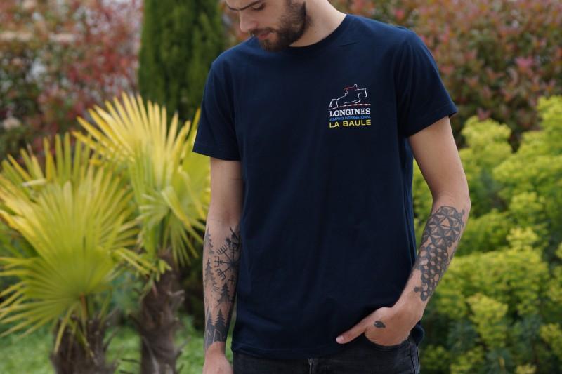 Boutique en ligne - T-shirt homme Jumping International La Baule - Office de Tourisme La Baule-Presqu'île de Guérande
