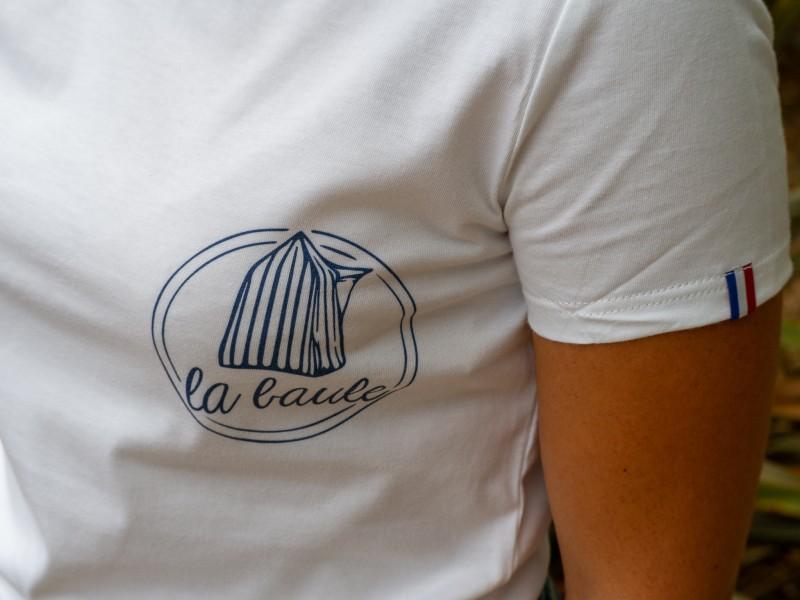 Boutique en ligne- t-shirt made in france  femme cabine La Baule - Office de tourisme La Baule Presqu'île de Guérande