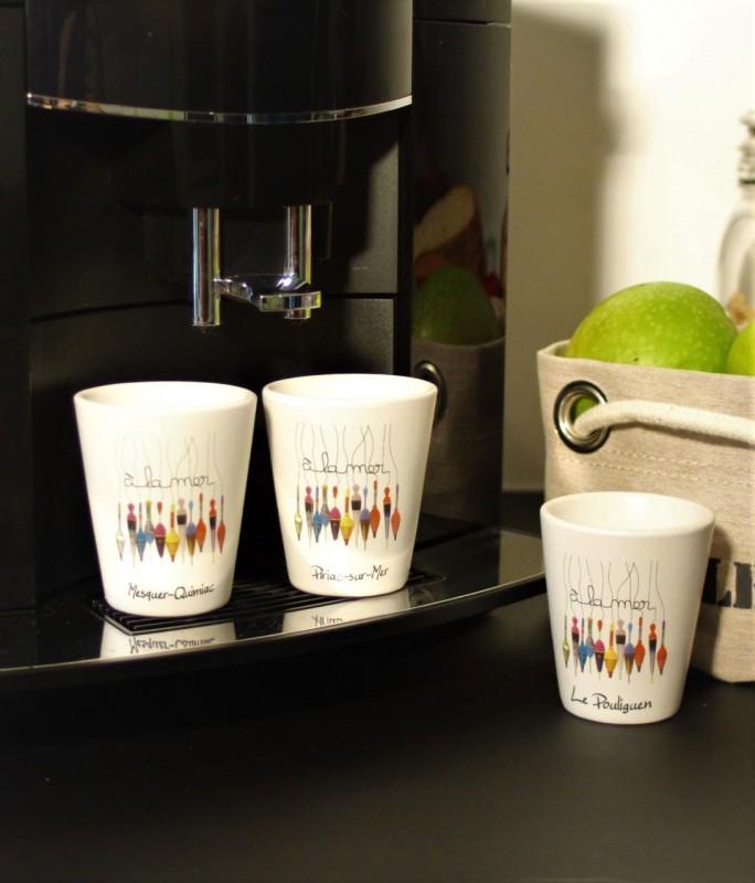 Boutique en ligne - Tasse espresso à la mer - Office de tourisme La Baule Presqu'île de Guérande