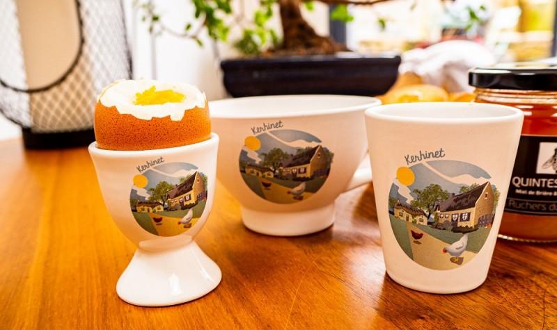 Boutique en ligne - Tasse espresso Kerhinet  - Office de tourisme La Baule Presqu'île de Guérande