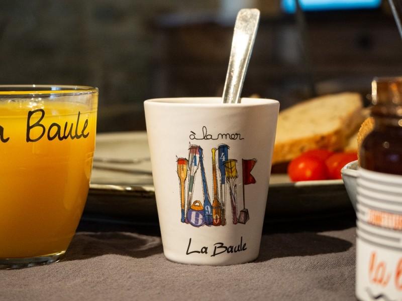 Boutique en ligne - Tasse Espresso Rames La Baule - Office de tourisme La Baule Presqu'île de Guérande