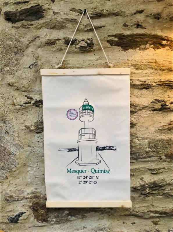Boutique en ligne - Toile Merquel - Mesquer Quimiac - OTI La Baule Presqu'île de Guérande