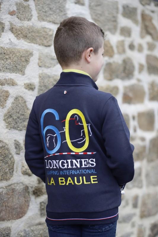Boutique en ligne - Veste enfant 60 ans Jumping International La Baule - Office de Tourisme La Baule-Presqu'île de Guérande
