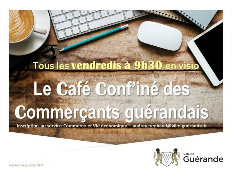 Café Conf'iné des Commerçants Guérandais