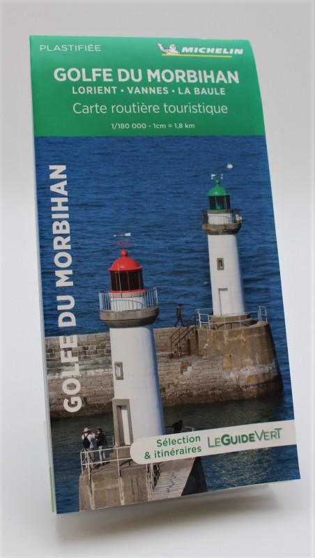 Carte routière de La Baule au Golfe du Morbihan