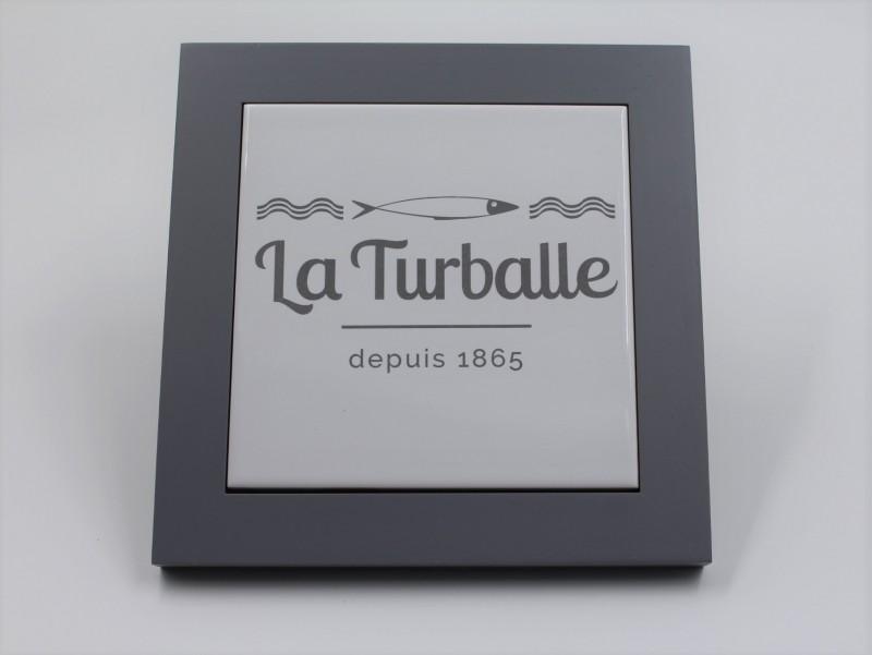 Dessous de plat - 1865 La Turballe gris