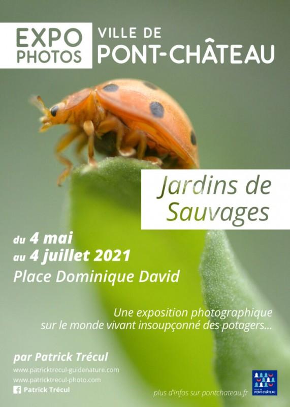 Expo photos Jardins de Sauvages