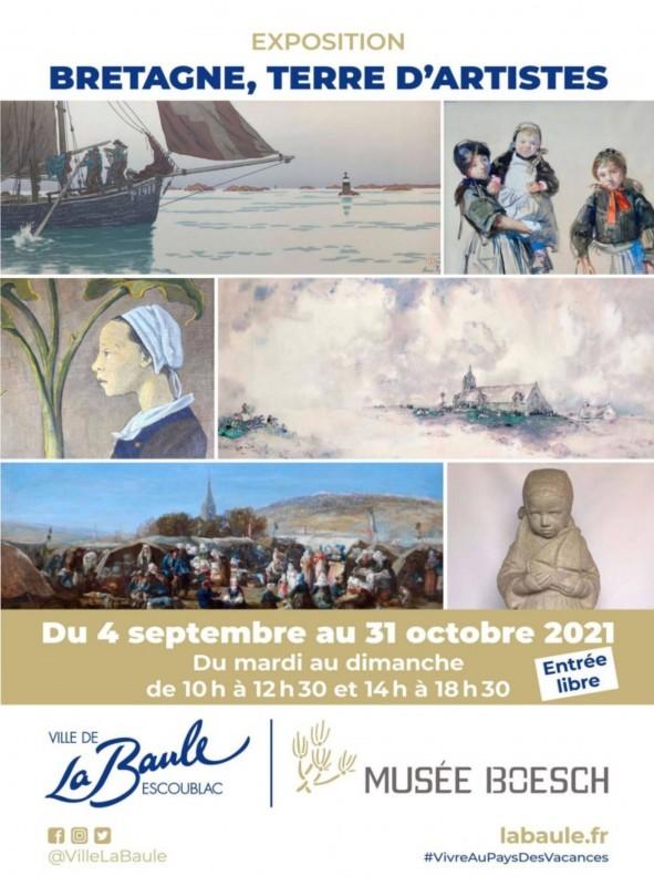 Exposition Bretagne, Terre d'artistes Musée Boesch Le Pouliguen