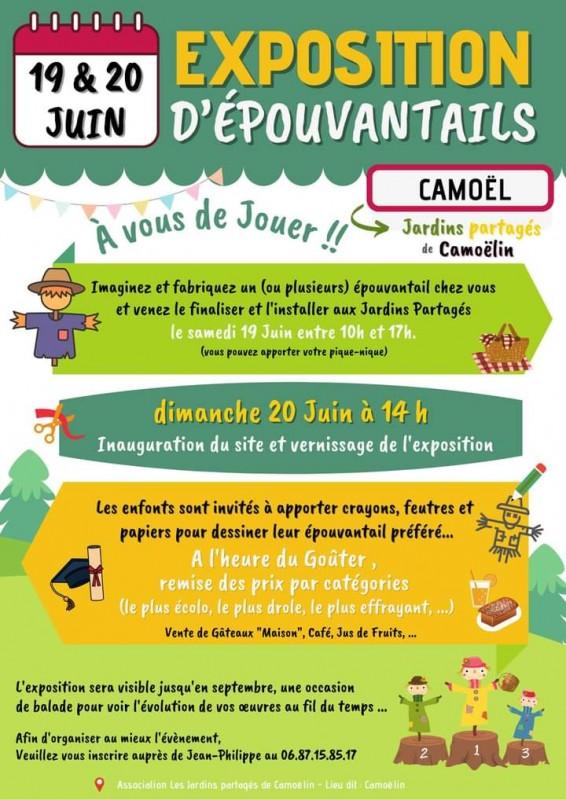 Exposition d'épouvantails - Les Jardins de Camoëlin Camoël