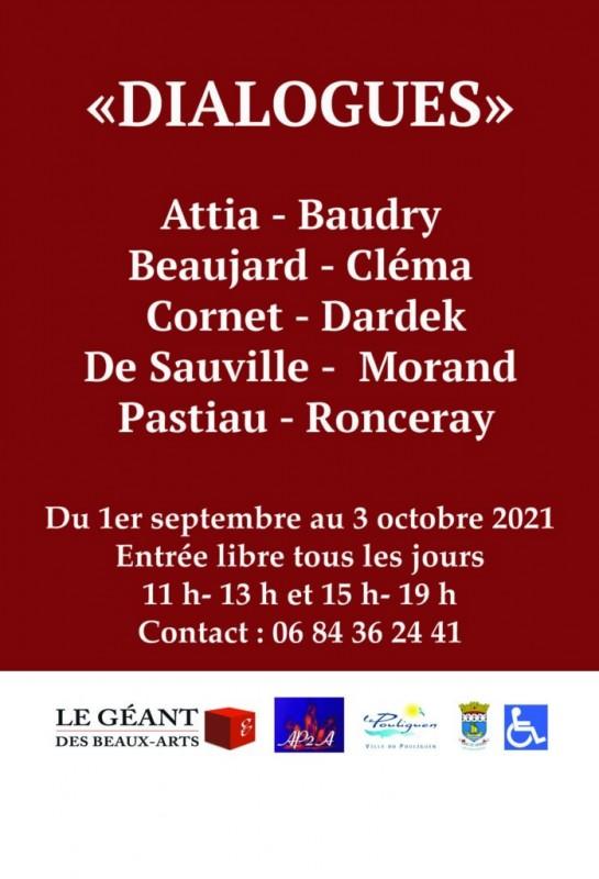Exposition Dialogues au Pouliguen