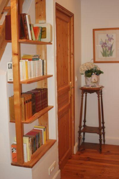 Guérande Gîtes Location de vacances Les Lavandes Mme Brunet Bibliothèque