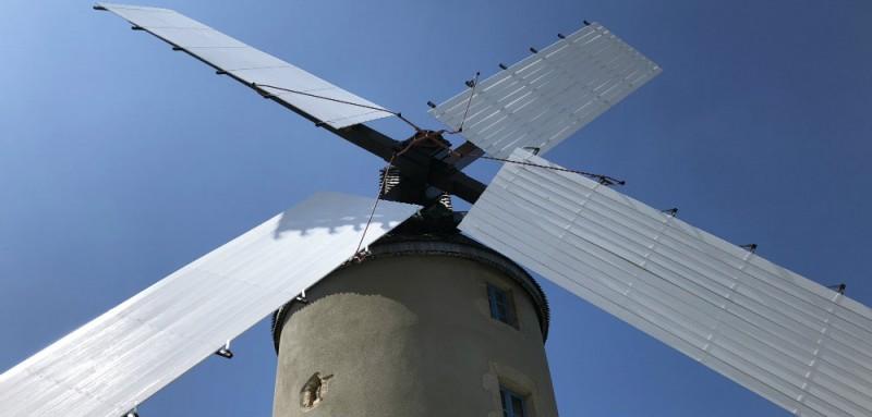 La Turballe - Au Gré des Vents - Visite du Moulin de Kerbroué