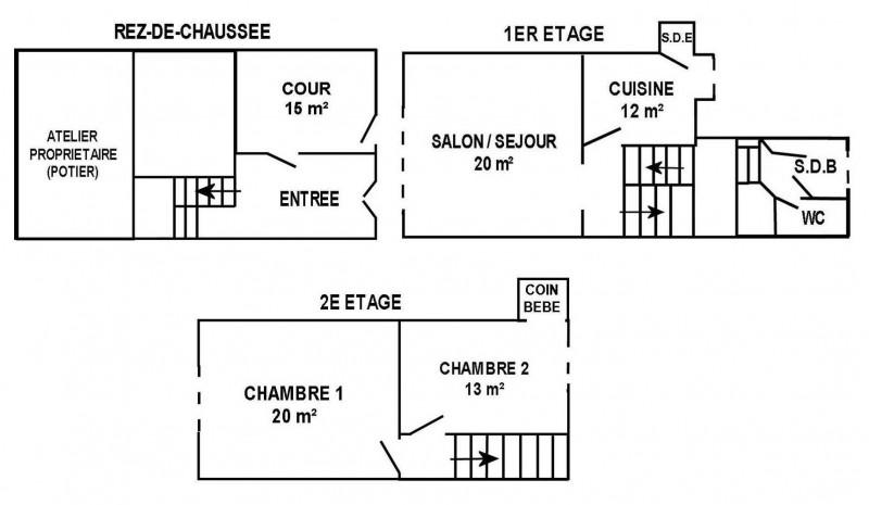 La Turballe - Maison 5 personnes - Le Garlahy M. JARNO - Plan maison