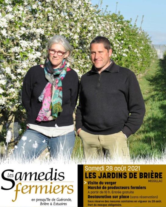Les Samedis Fermiers - Les Jardins de Brière à Missillac
