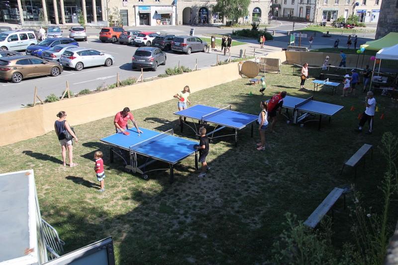 Mardis sportifs : Tennis de table