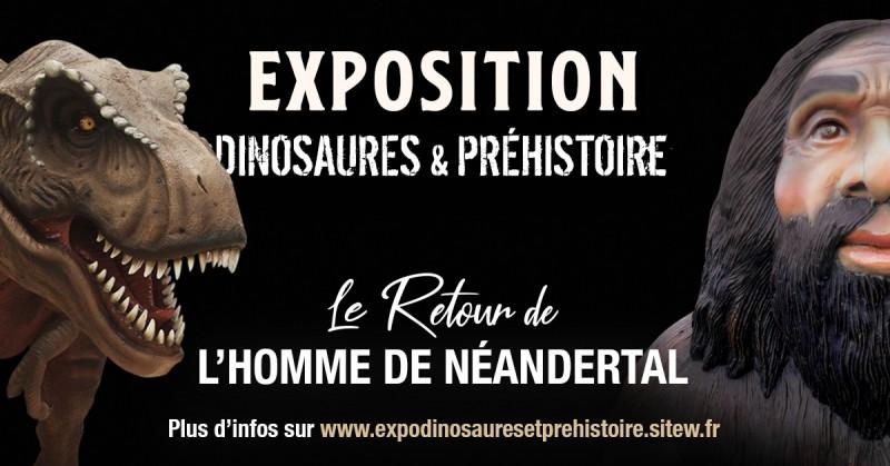 Exposition Dinosaures et Préhistoire