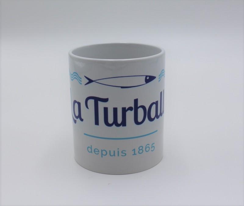 Mug La Turballe 1856 bleu